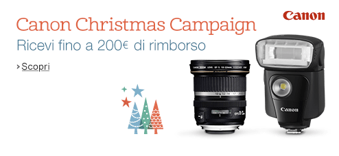 Canon Amazon Natale