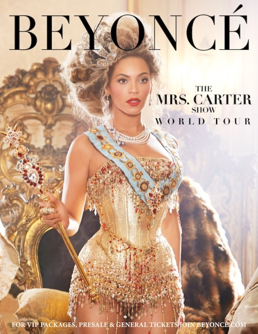 Beyoncé, Mrs. Carter World Tour 2013