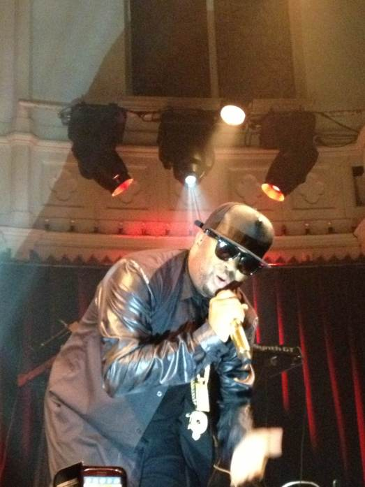 The-Dream live @ Paradiso, Amsterdam